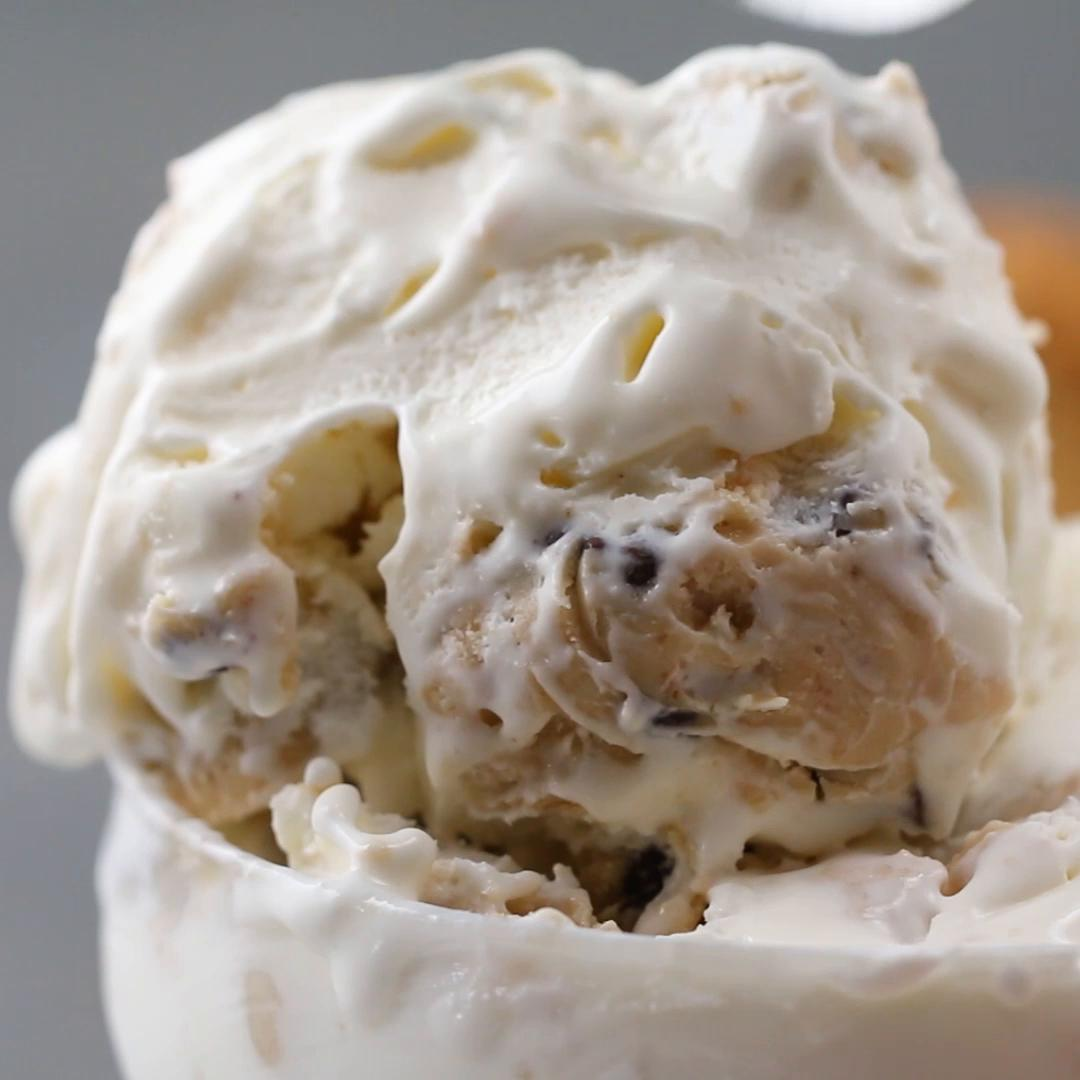 Cookie Dough Ice Cream Recipe by Tasty