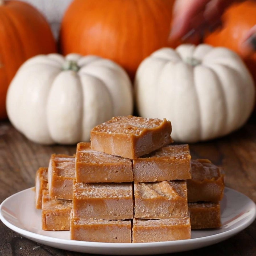"Peanut Butter Pumpkin ""fudge"""