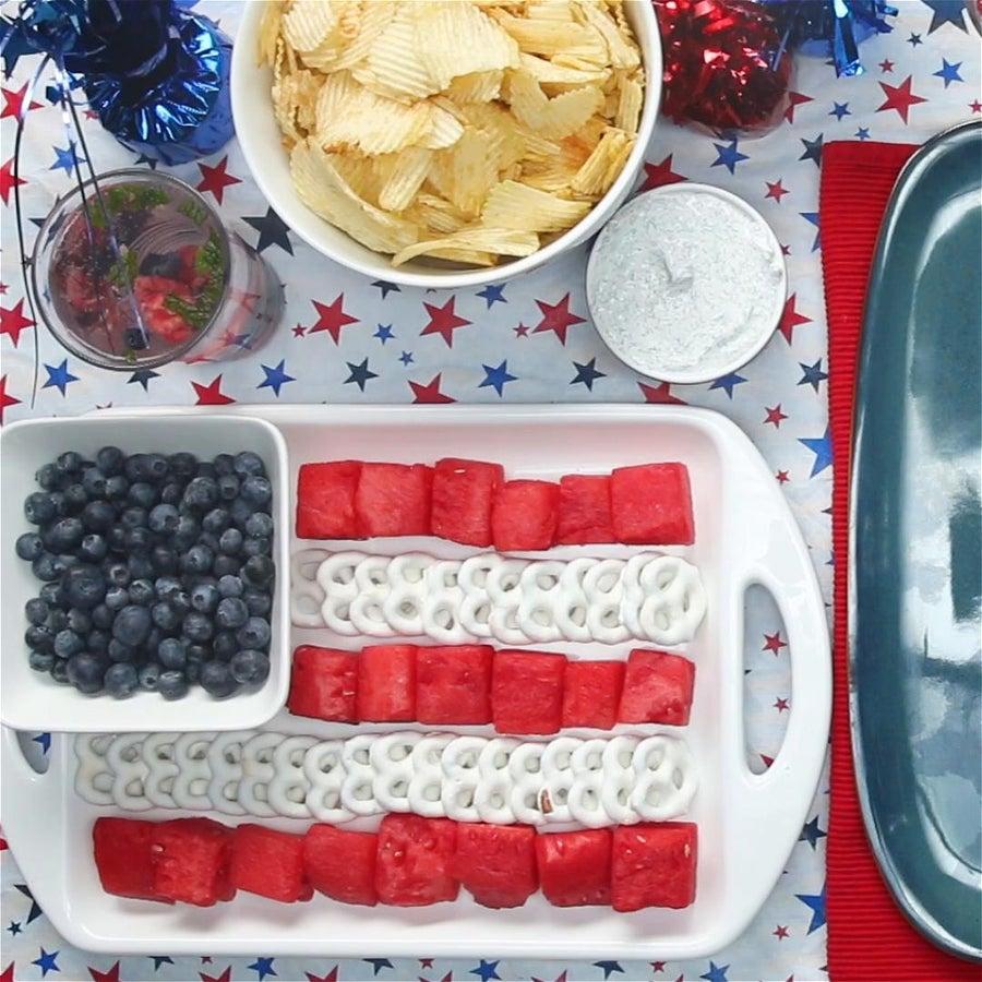 Star-Spangled Fruit Platter