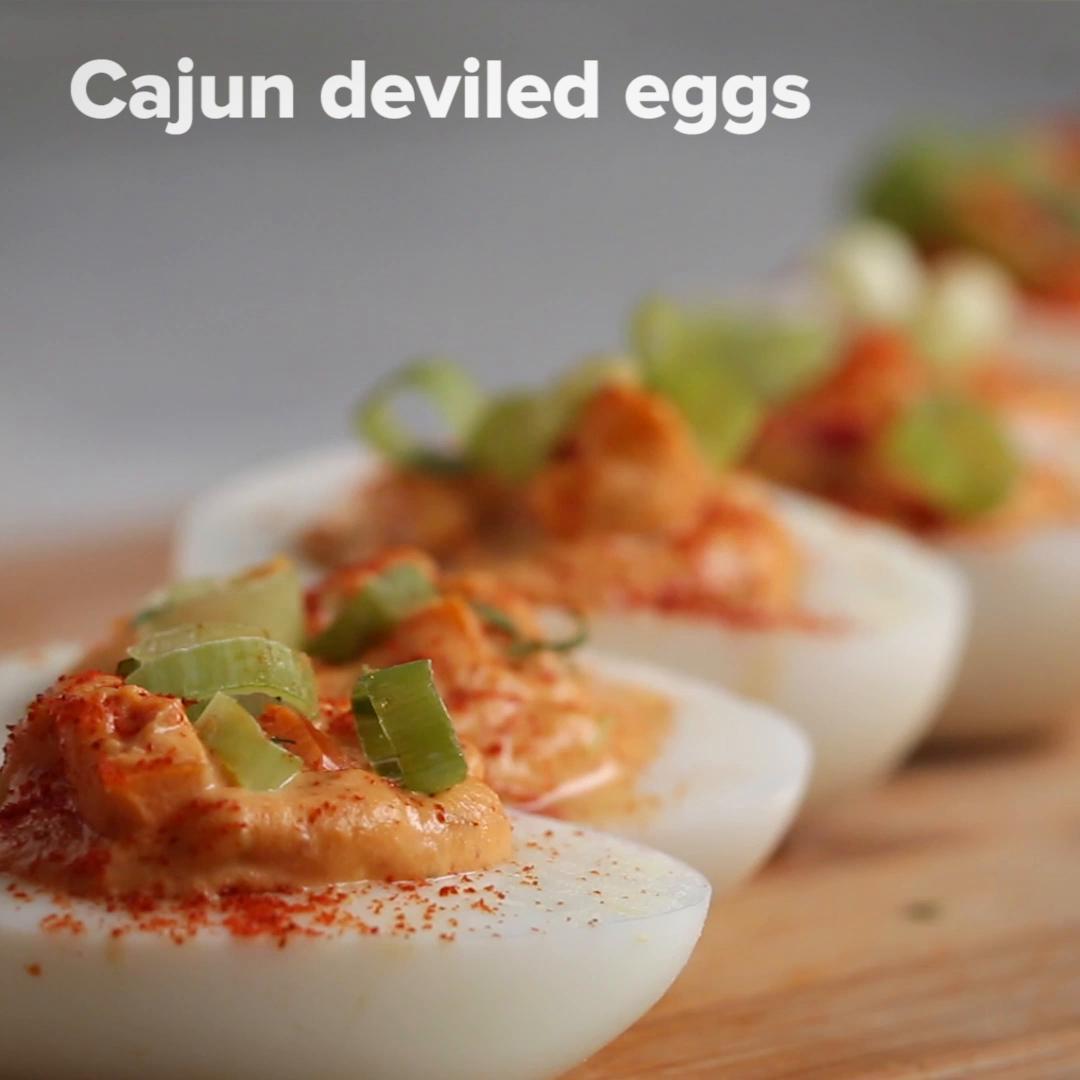Cajun Deviled Eggs Recipe by Tasty_image
