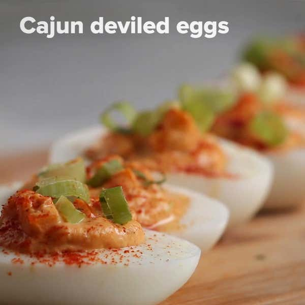 Deviled Eggs 4 Ways by Tasty