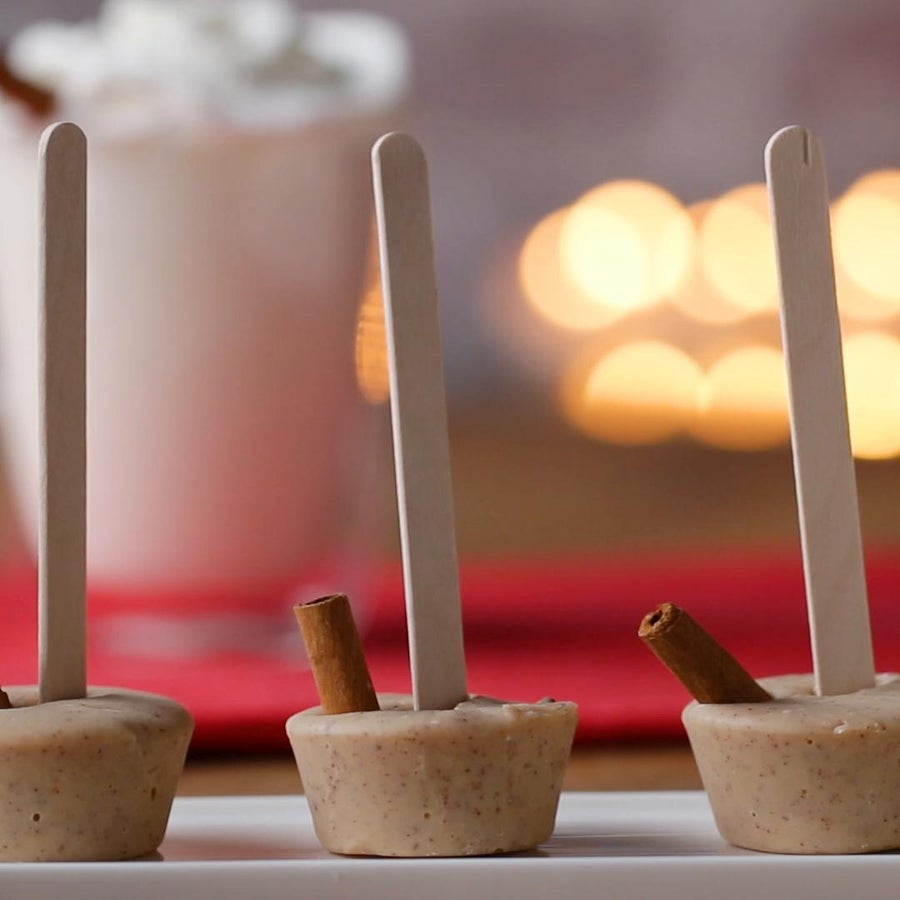 Snickerdoodle Hot Chocolate On A Stick