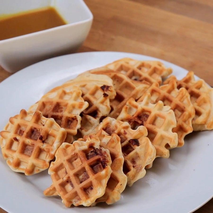 Chicken & Waffle Bites