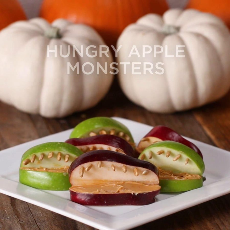 Hungry Apple Monsters