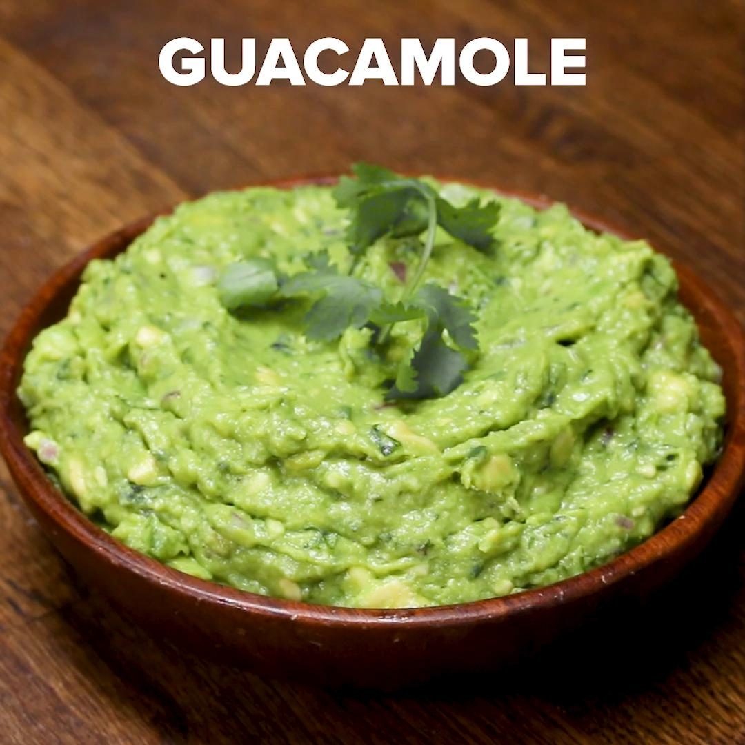 Yes, there's guacamole in it!