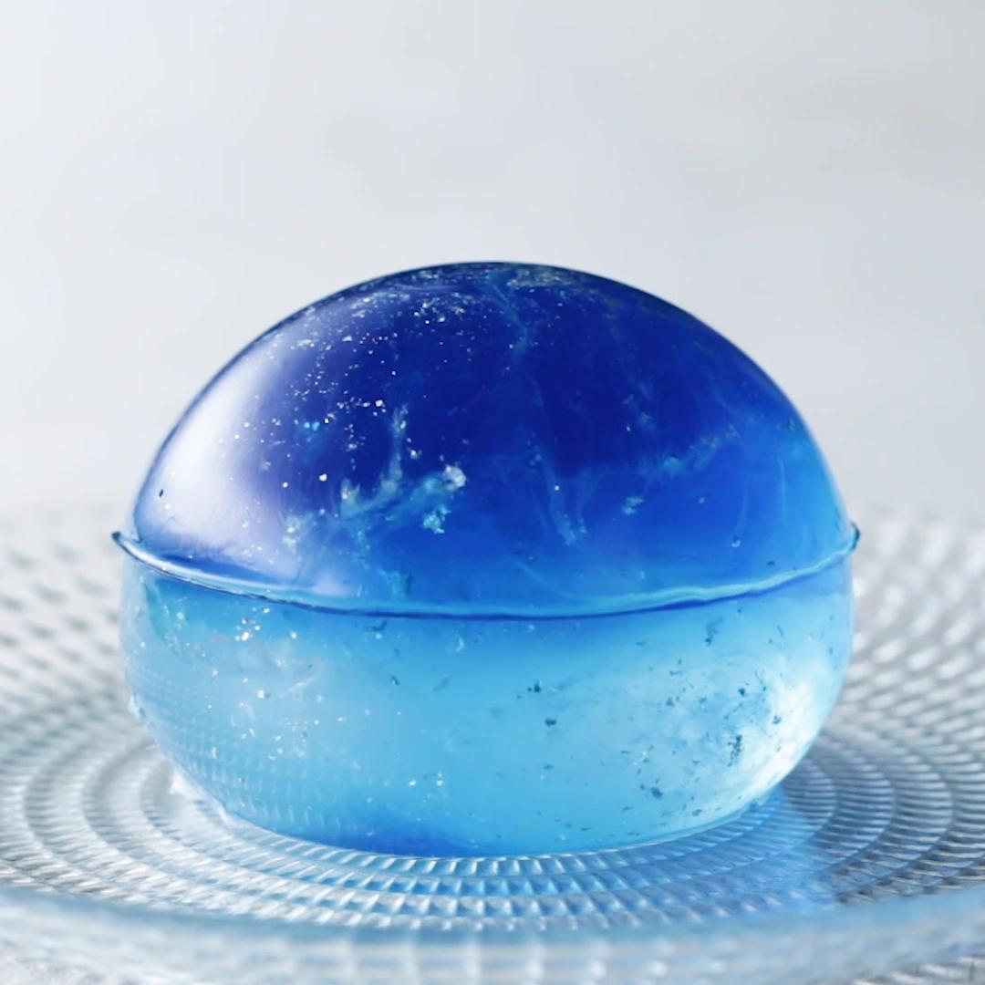 Galaxy Clear Jelly Cake Recipe By Tasty