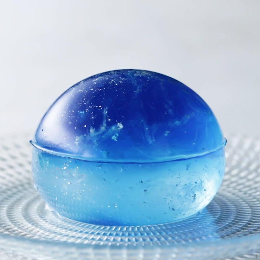 Galaxy Clear Jelly Cake