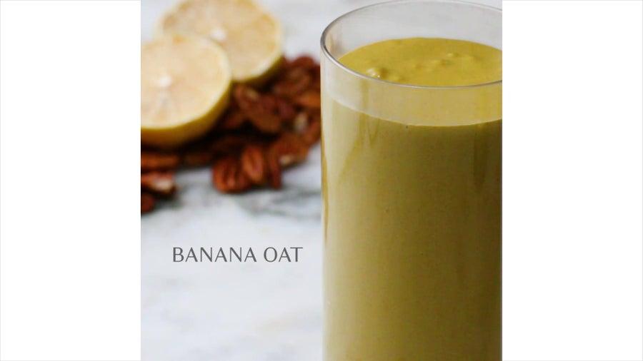 Banana Oat Freezer-Prep Smoothie