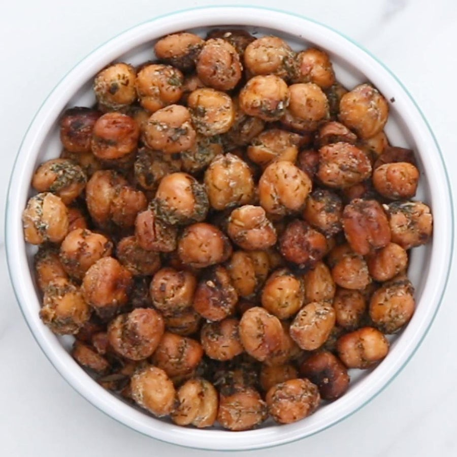 """Ranch"" Roasted Chickpeas"
