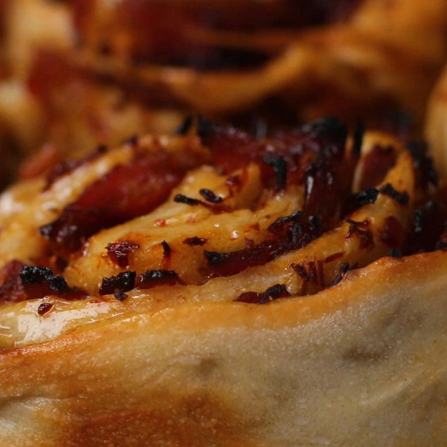BBQ Chipped Ham Rolls