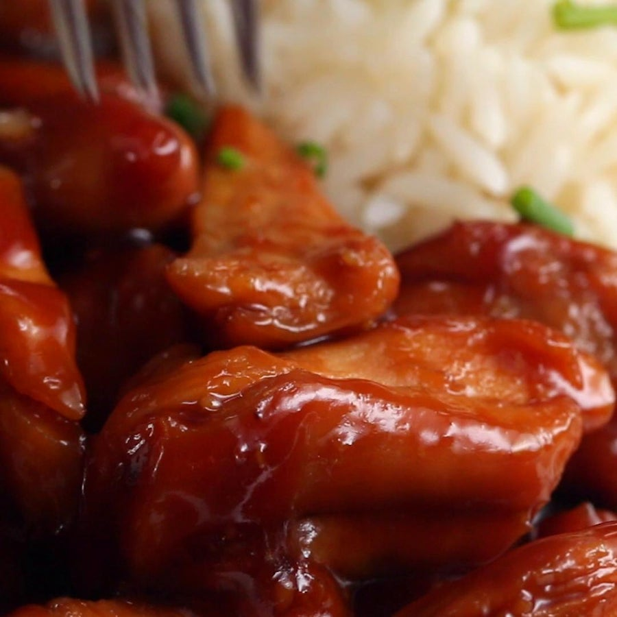 3-ingredient Teriyaki Chicken