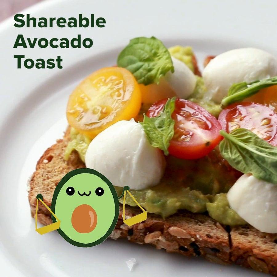Shareable Avocado Toast (Libra)