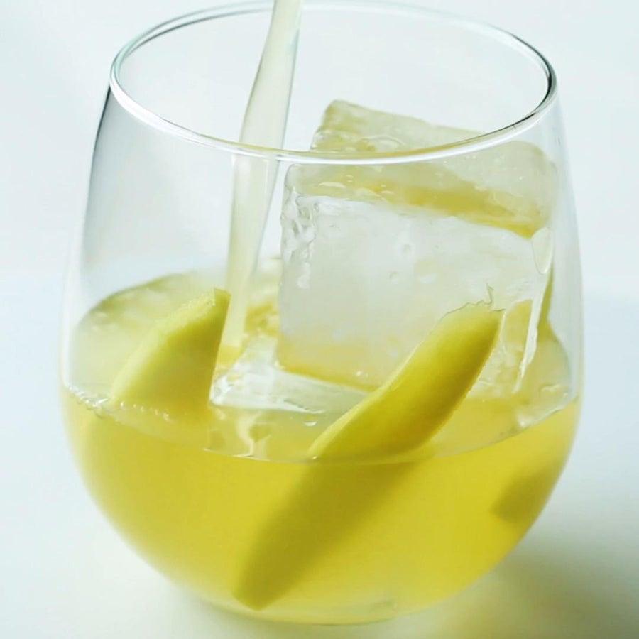 Spiked Mango Pineapple Lemonade