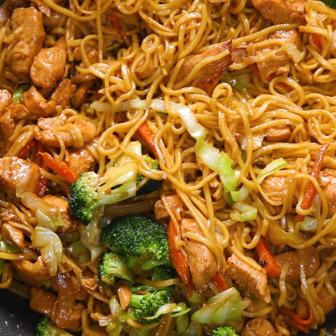 Chow Mein 4 Ways Recipes