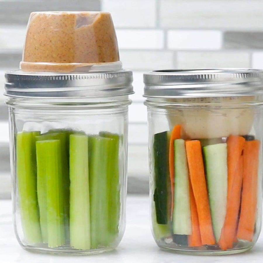 Snack Packs In A Jar