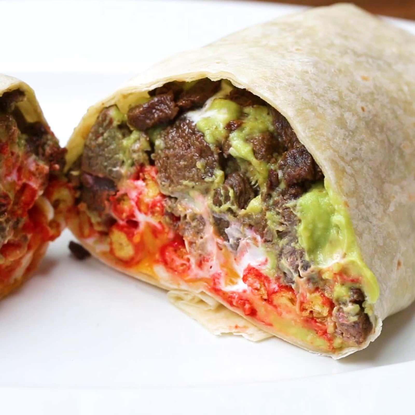 Hot Cheeto Burrito