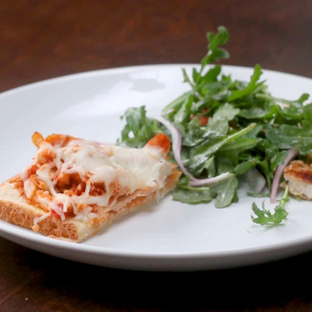 Chicken Parm Melts Recipe By Tasty
