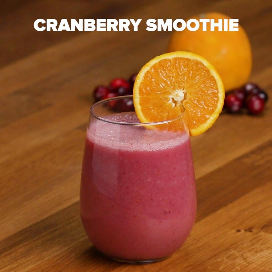 Cranberry Sauce Smoothie