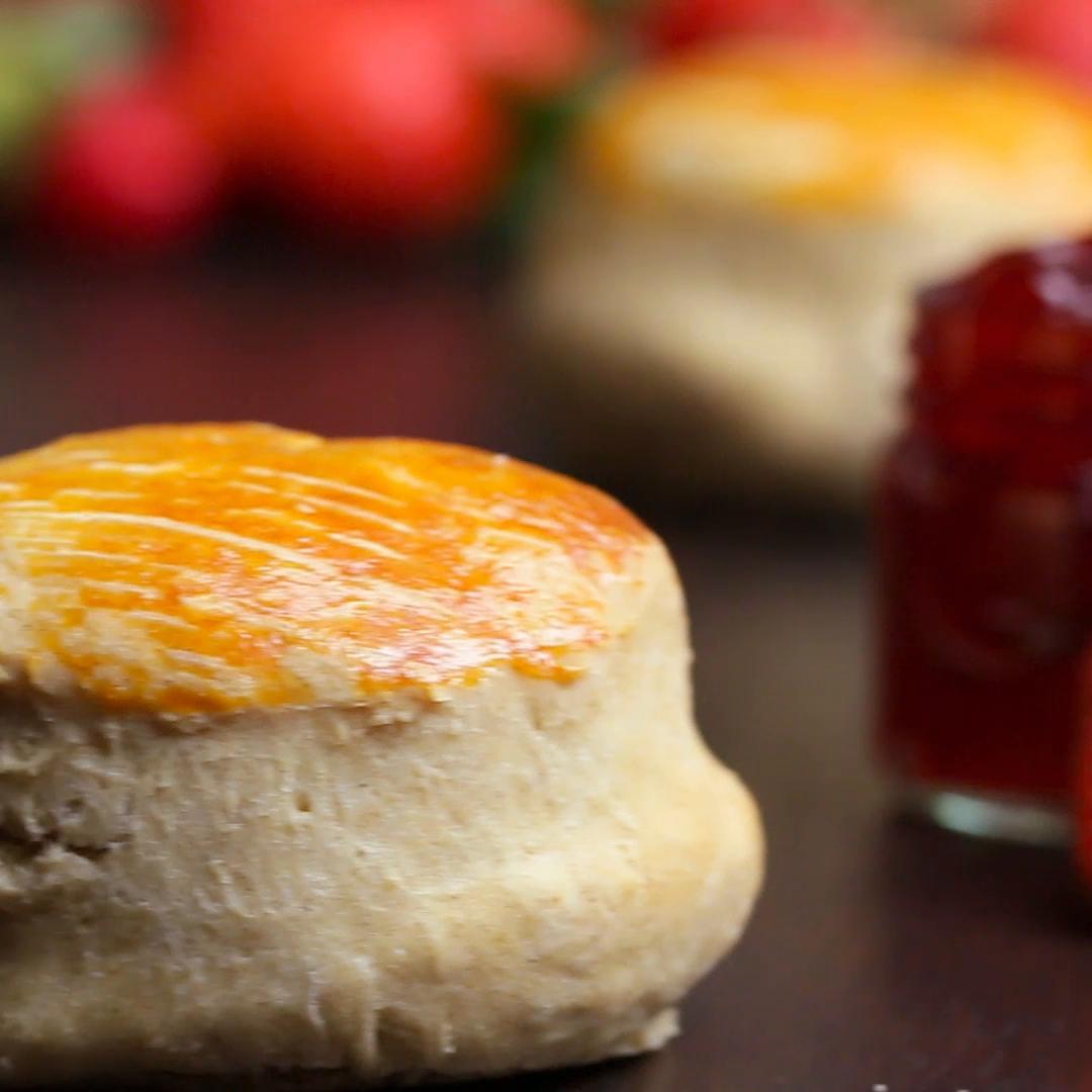 English scones-scones: recipe. Simple and tasty