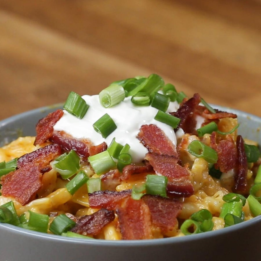 Loaded Bacon Mac 'n' Cheese