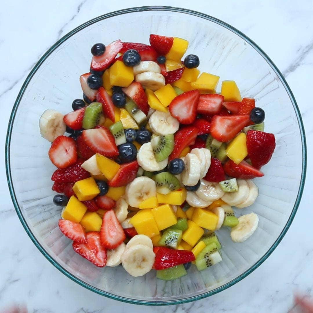 Honey Lime Fruit Salad Recipe By Tasty
