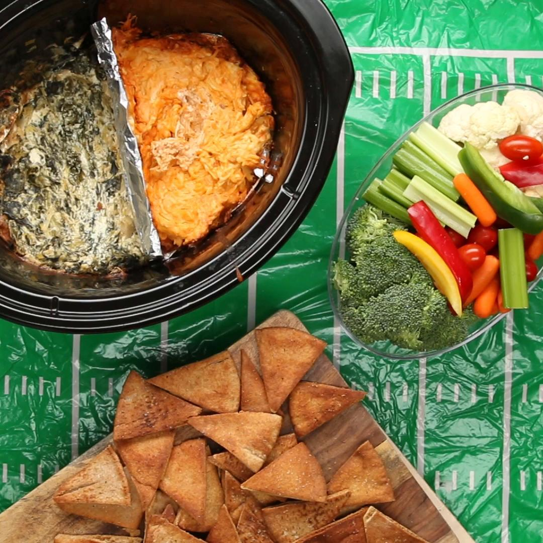 2 Healthier Crock Pot Dips Recipes