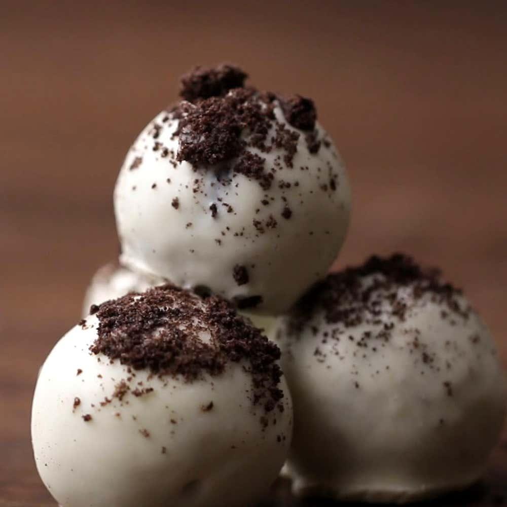Cookies & Cream Truffles Easy Dessert Recipe By Tasty