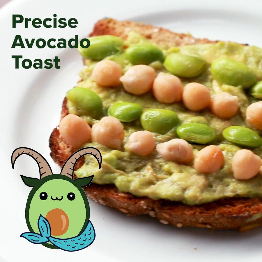 Precise Avocado Toast (Capricorn)