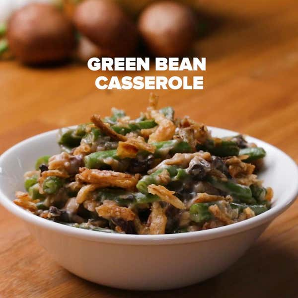 dairy free green bean casserole recipe by tasty