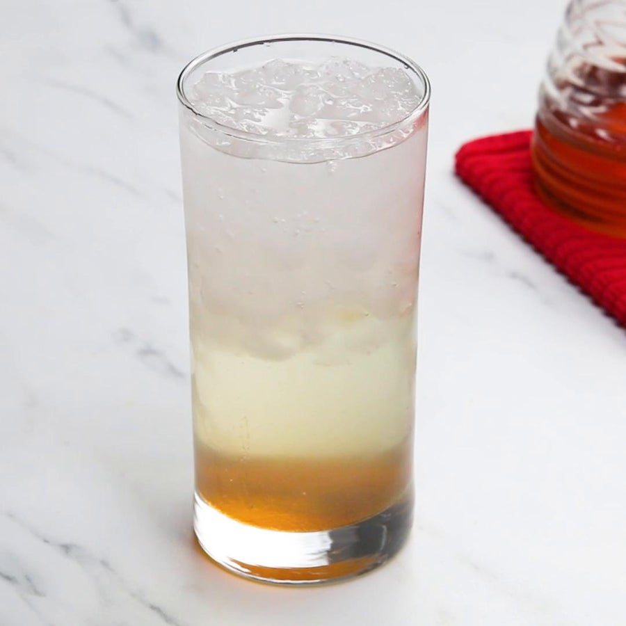 Honey Lavender Soda