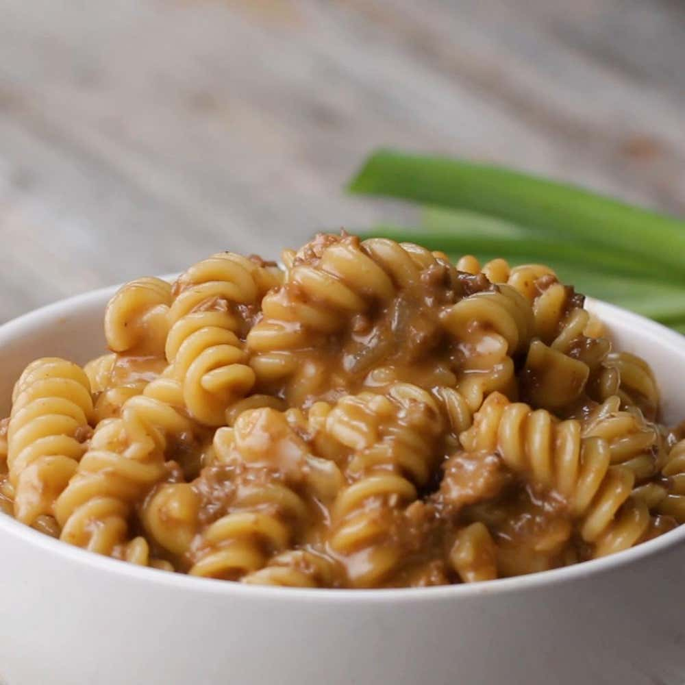 Healthy One Pot Meals 6 Easy Diabetic Dinner Recipes: One-Pot Cheeseburger Pasta Recipe By Tasty