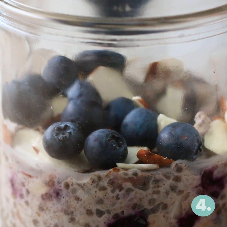 Blueberry And Almond Instant Oatmeal