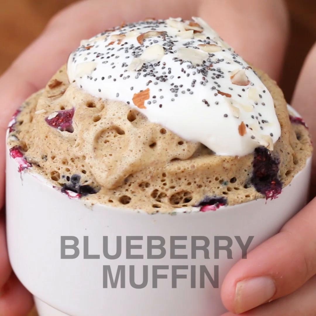 Blueberry Muffin Mug Recipe By Tasty