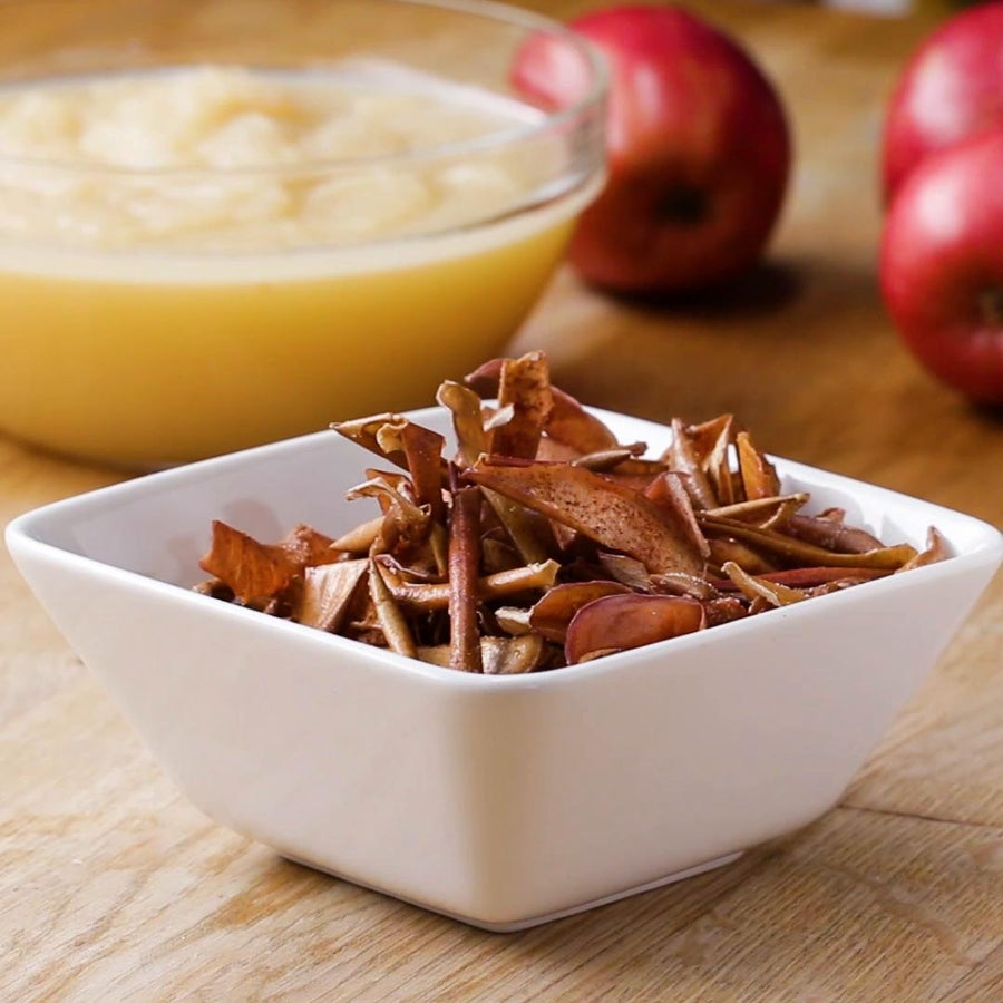 Apple Peel Chips