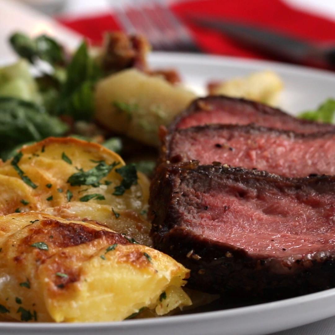how to make a nice steak dinner