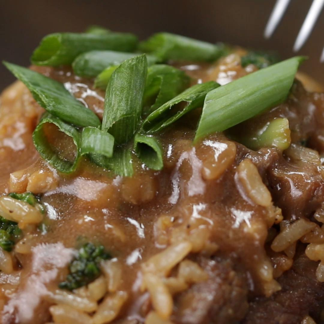 Beef Broccoli Fried Rice Recipe By Tasty
