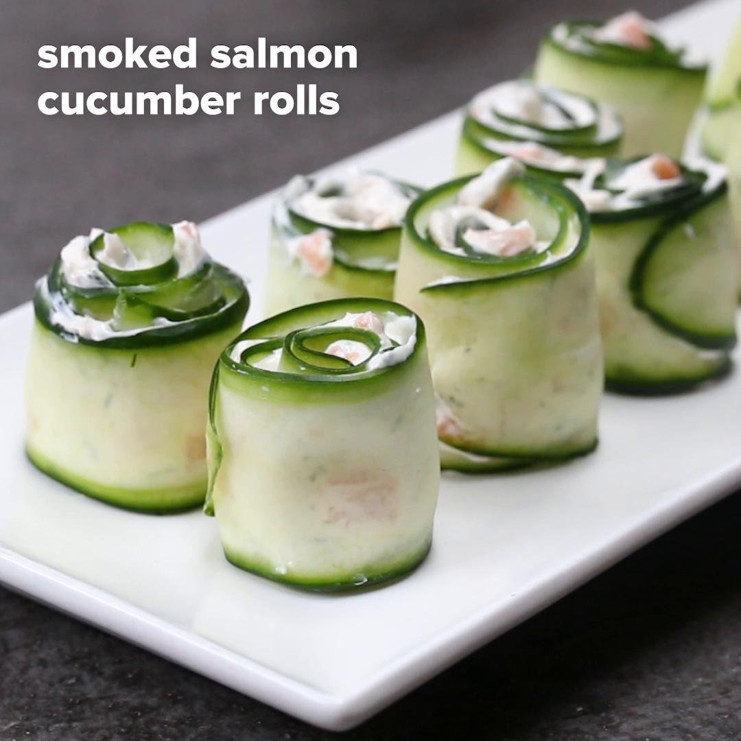 Cucumber Rolls Recipe By Tasty