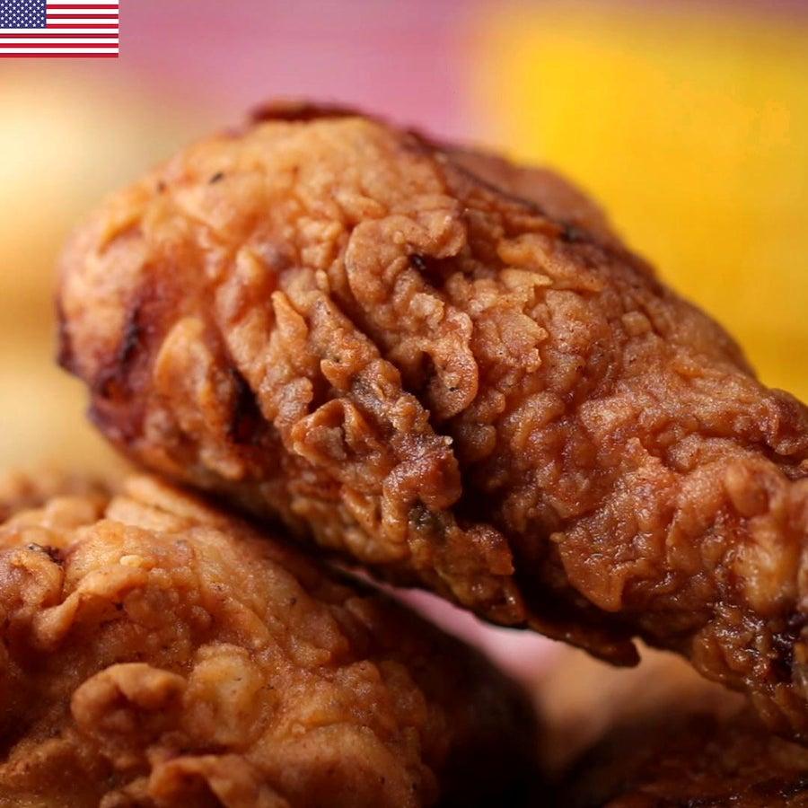American Buttermilk-fried Chicken