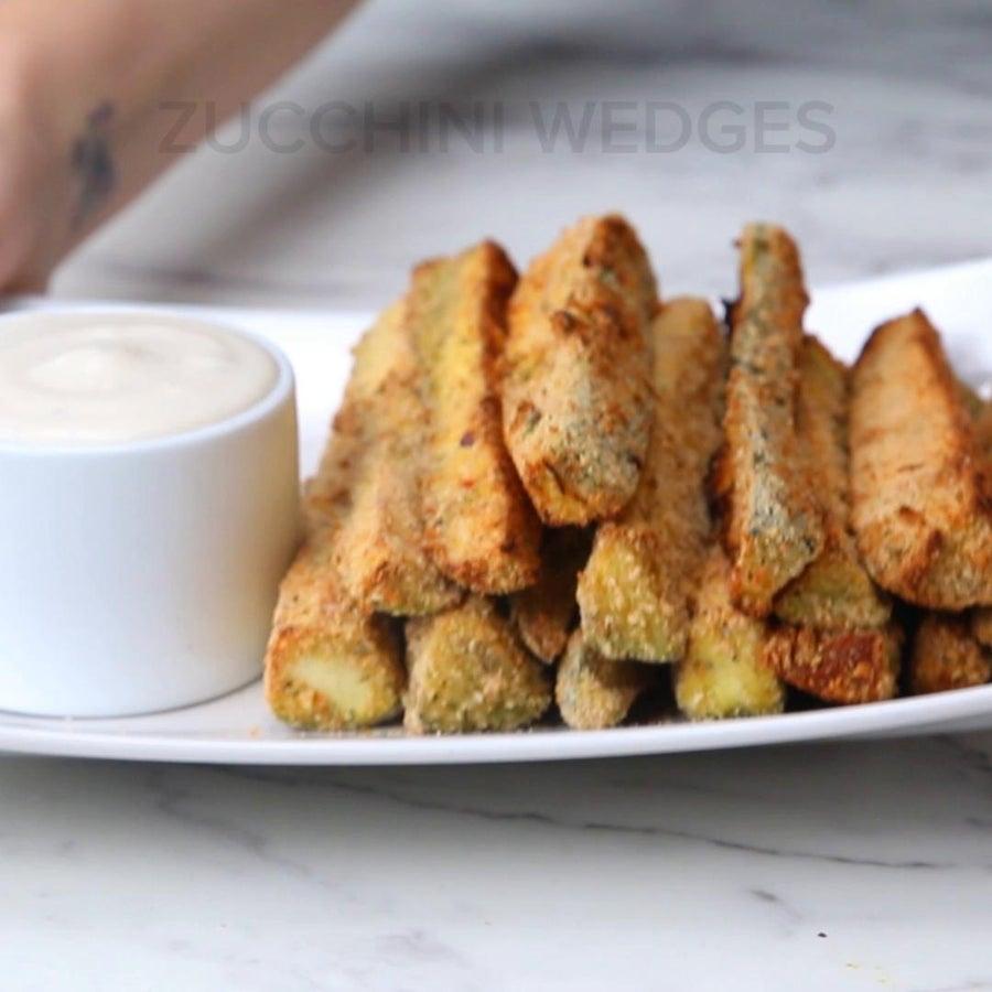 Zucchini Wedges