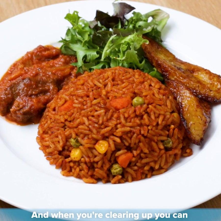 Ghanaian Jollof Rice By Tei Hammond