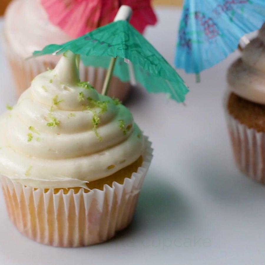 Cocktail 'Box' Cupcakes 3 Ways