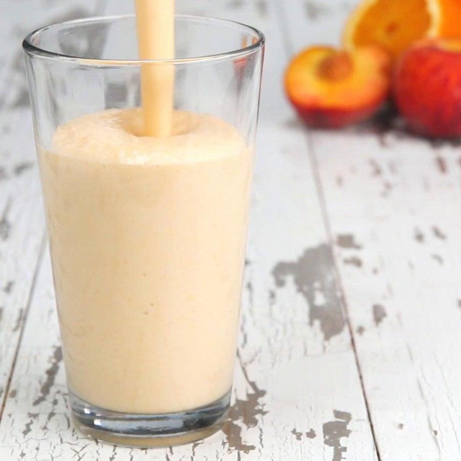 Peach & Orange Cream Protein Smoothie
