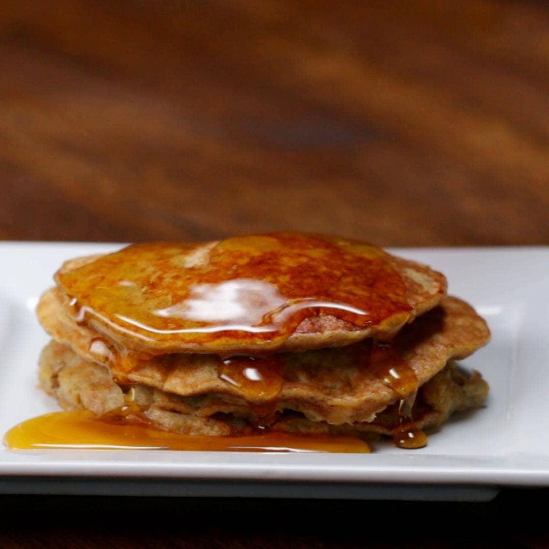 Banana Pancakes Recipe By Tasty