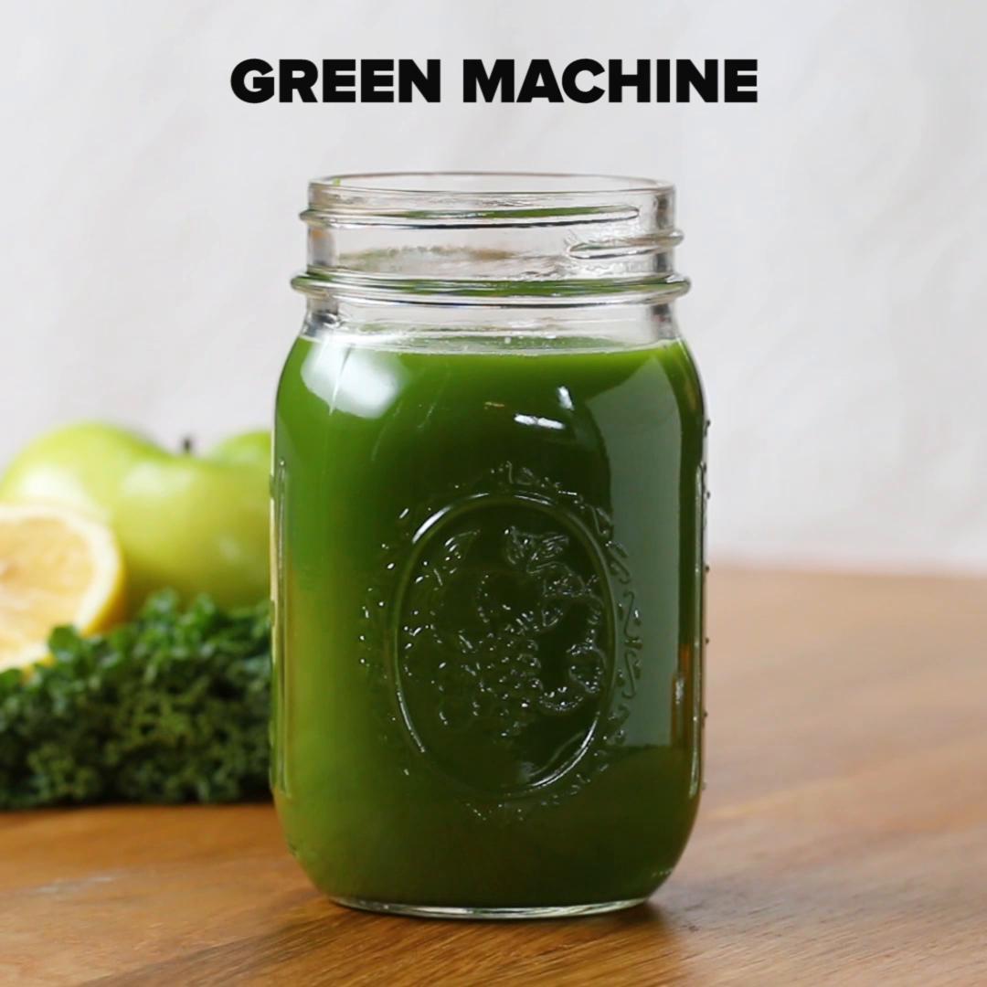 Green Machine Juice Recipe By Tasty