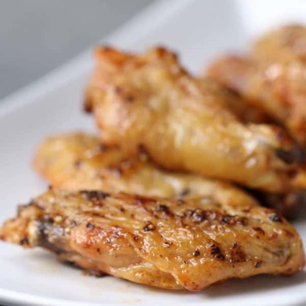 Lemon pepper baked wings recipe by tasty lemon pepper baked wings forumfinder Image collections