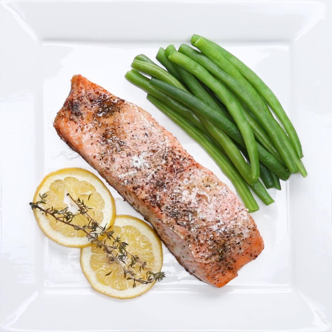 How to cook skinless salmon fillet in the oven