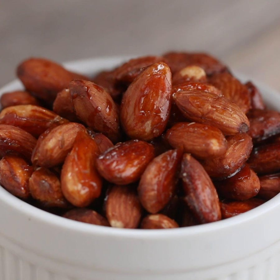 Sweet And Salty Roasted Almonds