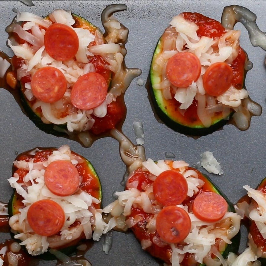 After School Zucchini Pizzas
