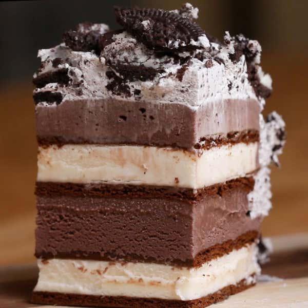 S Mores Ice Cream Cake Tasty
