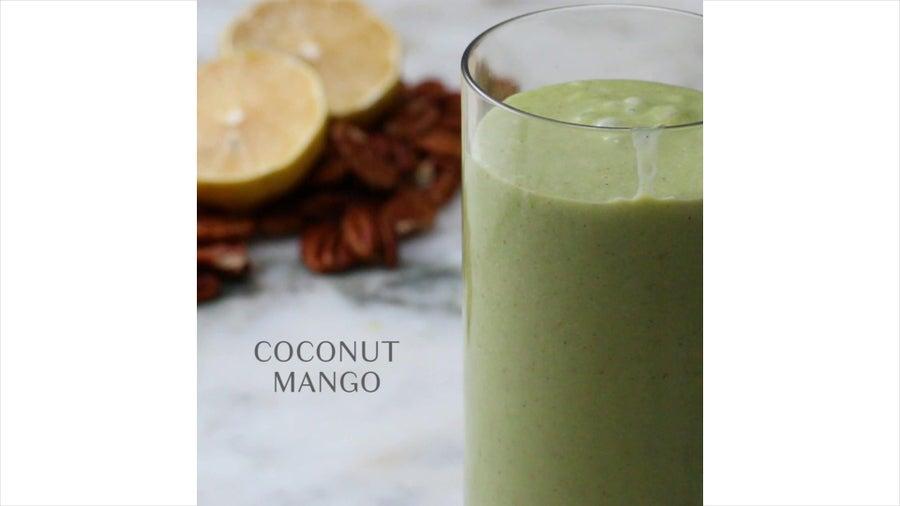 Coconut Mango Freezer-Prep Smoothie